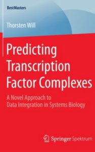 Predicting Transcription Factor Complexes by Thorsten Will