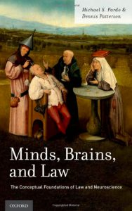 Minds Brains and Law by Dennis Patterson