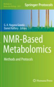 NMR Based Metabolomics by Daniel Raftery